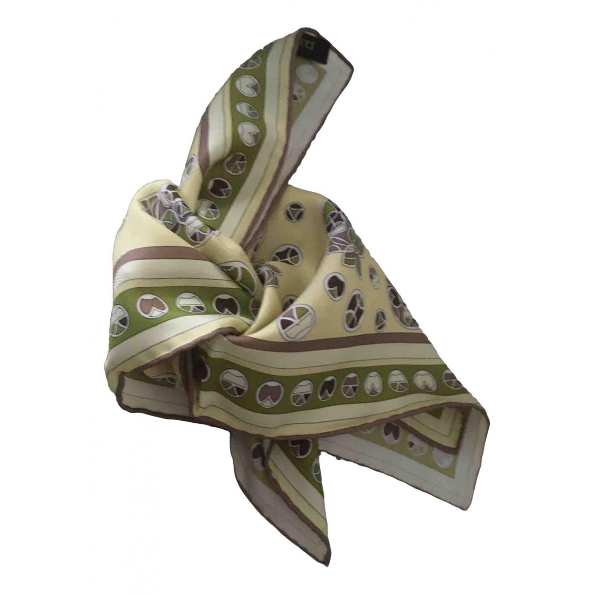 Emilio Pucci \N Multicolour Silk scarf for Women \N