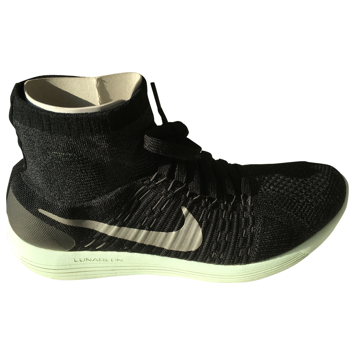 Nike - Baskets   pour homme en toile - noir