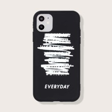 Funda de iphone con letra