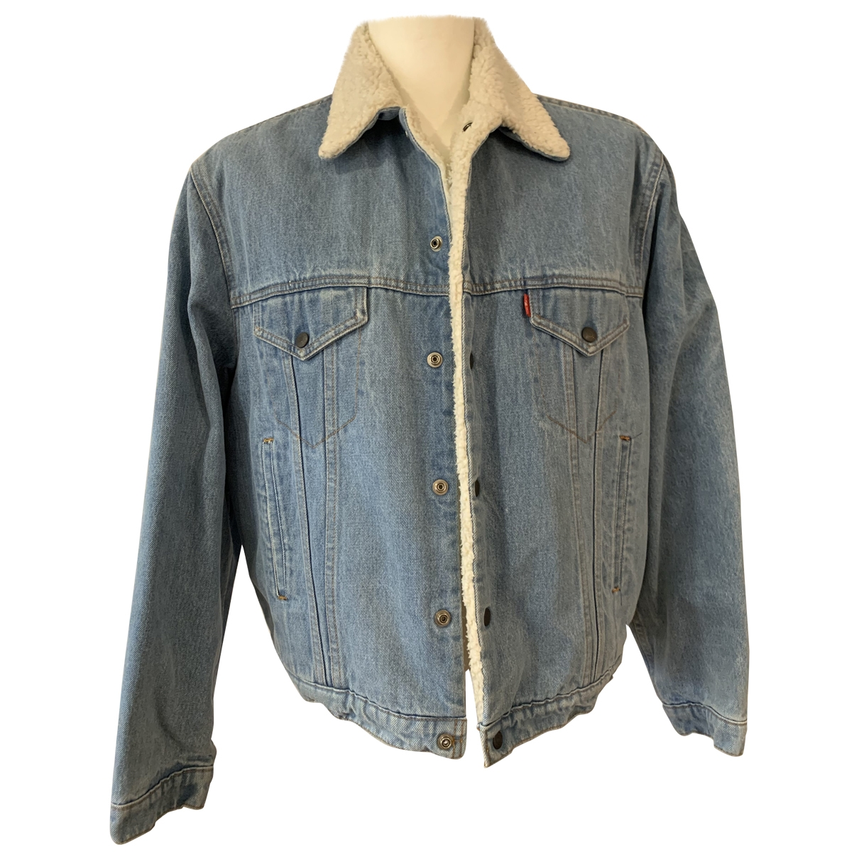Levi's \N Blue Cotton jacket  for Men 48 IT