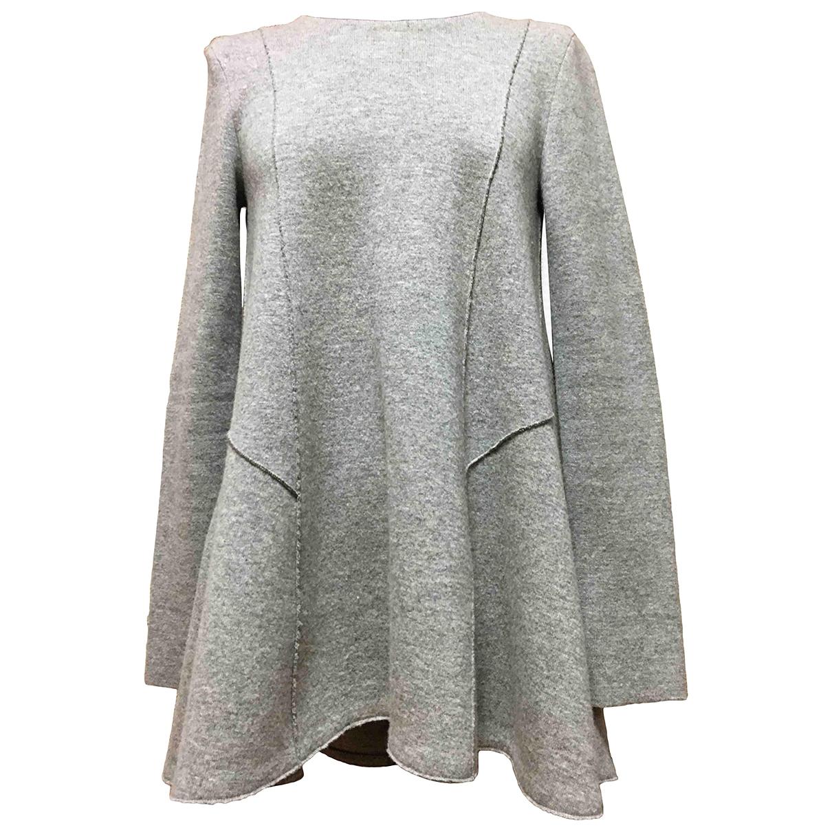 Dior \N Kleid in  Grau Kaschmir