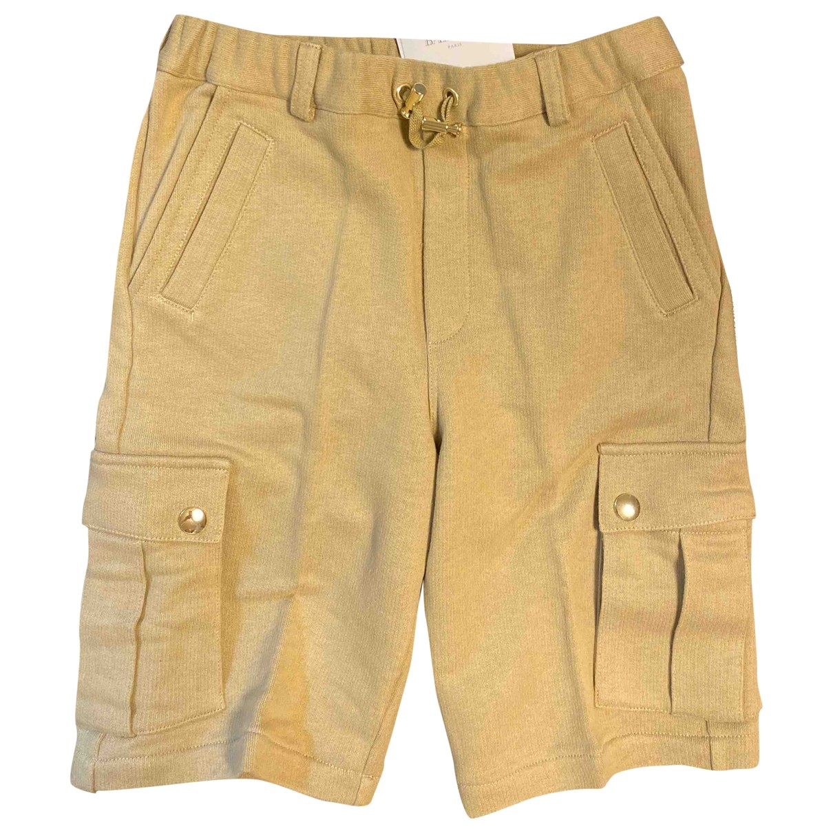 Balmain \N Beige Cotton Shorts for Kids 10 years - up to 142cm FR