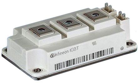 Infineon FF300R06KE3HOSA1, 62MM Module , N-Channel Series IGBT Module, 400 A max, 600 V, Panel Mount