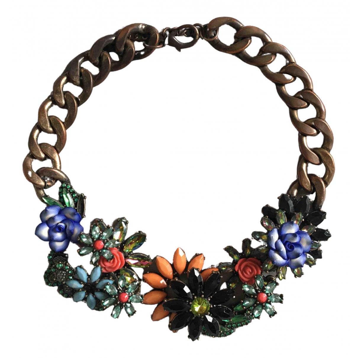 Zara \N Kette in  Bunt Metall