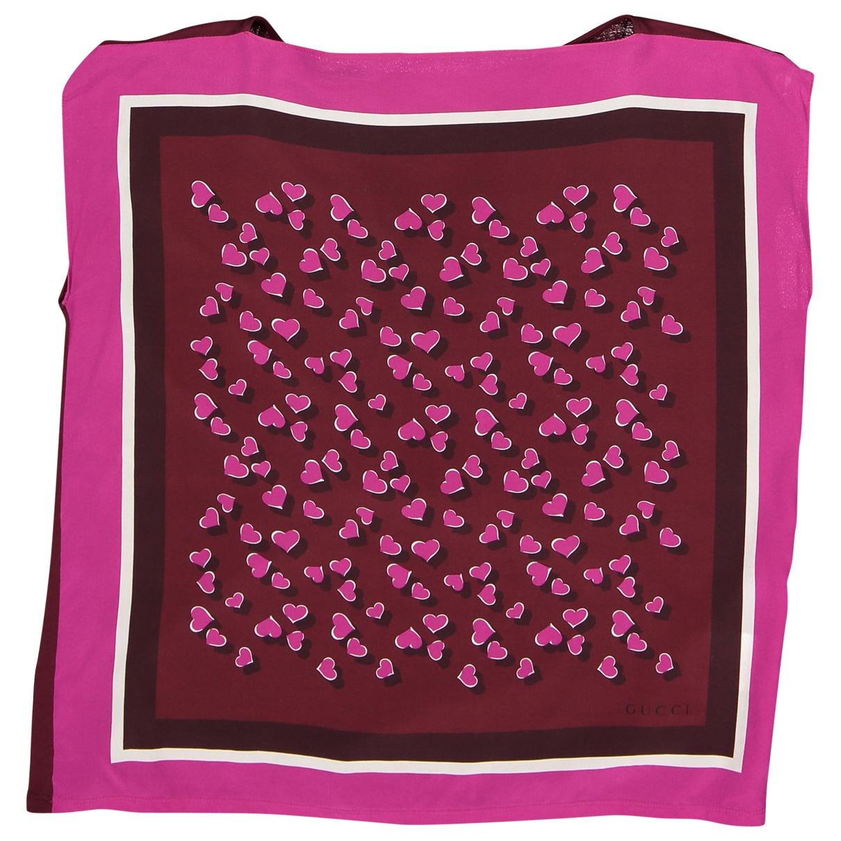 Gucci \N Purple Silk  top for Women M International