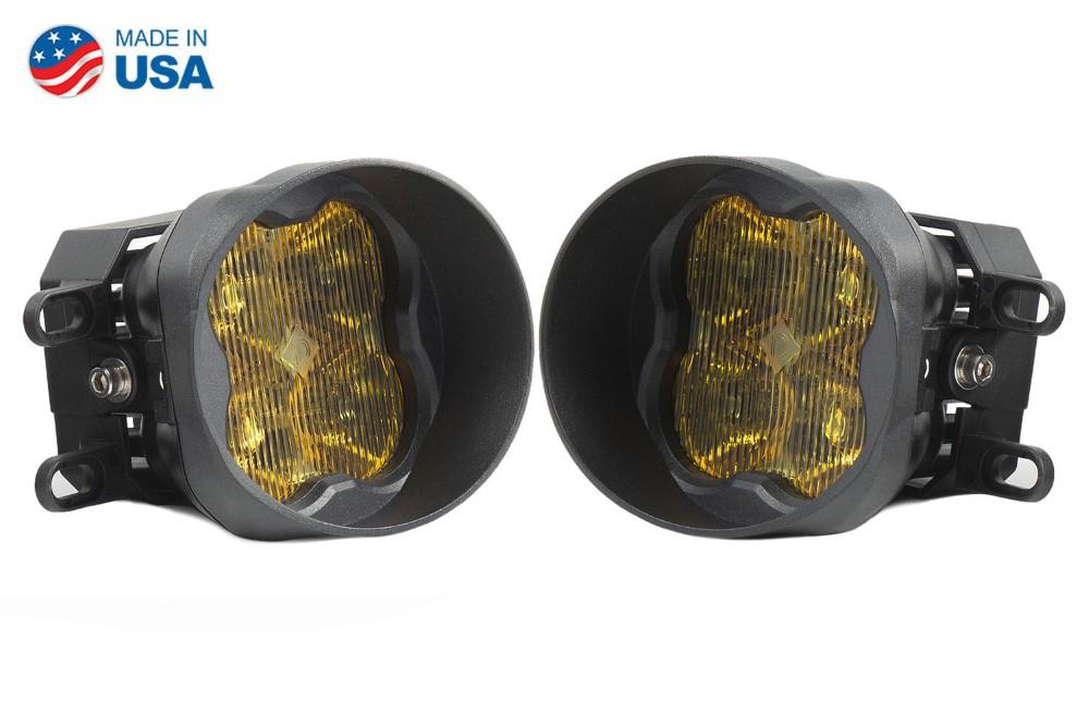 Diode Dynamics DD6187-ss3fog-3036-GBFG SS3 LED Fog Light Kit for 2009-2016 Toyota Corolla Yellow SAE/DOT Fog Sport