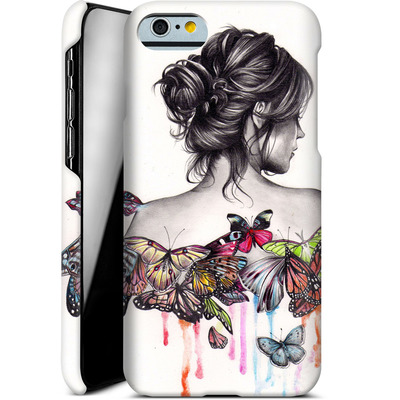 Apple iPhone 6s Smartphone Huelle - Butterfly Effect von Kate Powell
