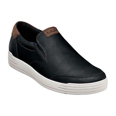 Nunn Bush Mens Kore City Walk Slip-On Shoe, 10 Medium, Black