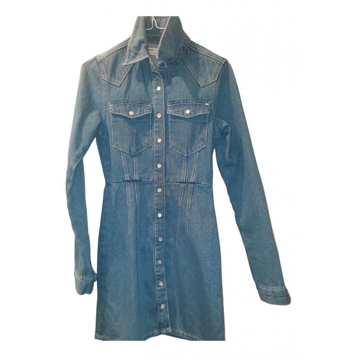 Asos N Blue Denim - Jeans dress for Women 34 FR