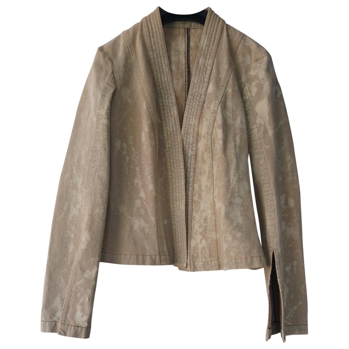 Jijil - Veste   pour femme en coton - beige
