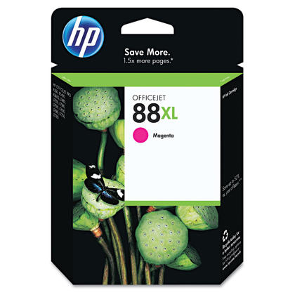 HP 88XL C9392AN Original Magenta Ink Cartridge High Yield