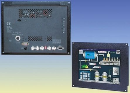 Kent Modular Equipment KME 12.1in LCD Industrial Monitor 800 x 600pixels, SVGA Graphics, VGA I/F Panel Mount