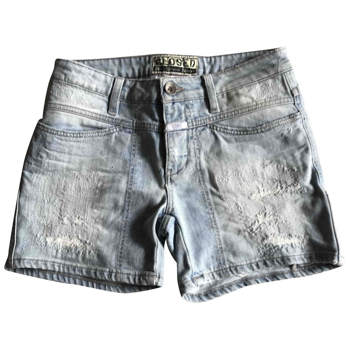 Closed \N Cotton - elasthane Shorts for Women 38 IT