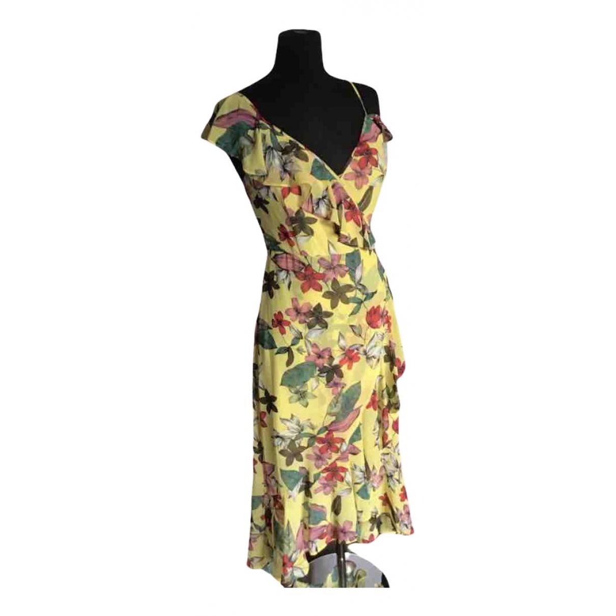 Guess \N Kleid in  Gelb Polyester
