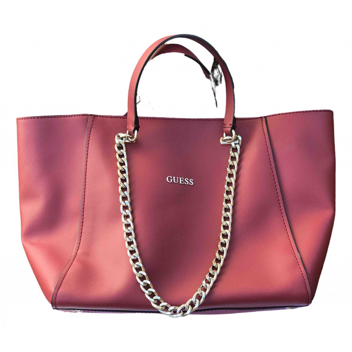 Guess \N Red handbag for Women \N