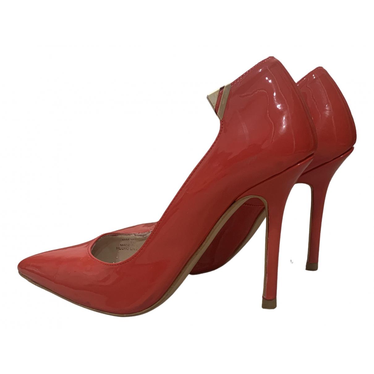 Zara \N Red Patent leather Heels for Women 37 EU