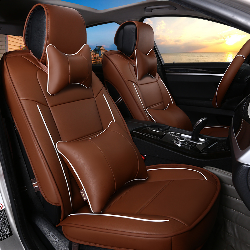 Bright Smooth Soft Comfortable Luxurious Custom Car Seat Covers
