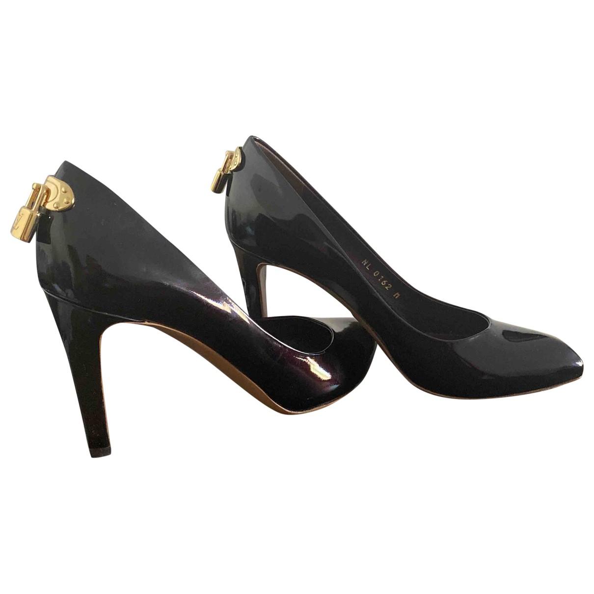 Louis Vuitton - Escarpins   pour femme en cuir verni - violet