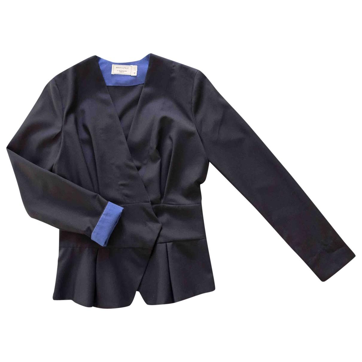 Maison Kitsune \N Navy Wool jacket for Women 36 FR
