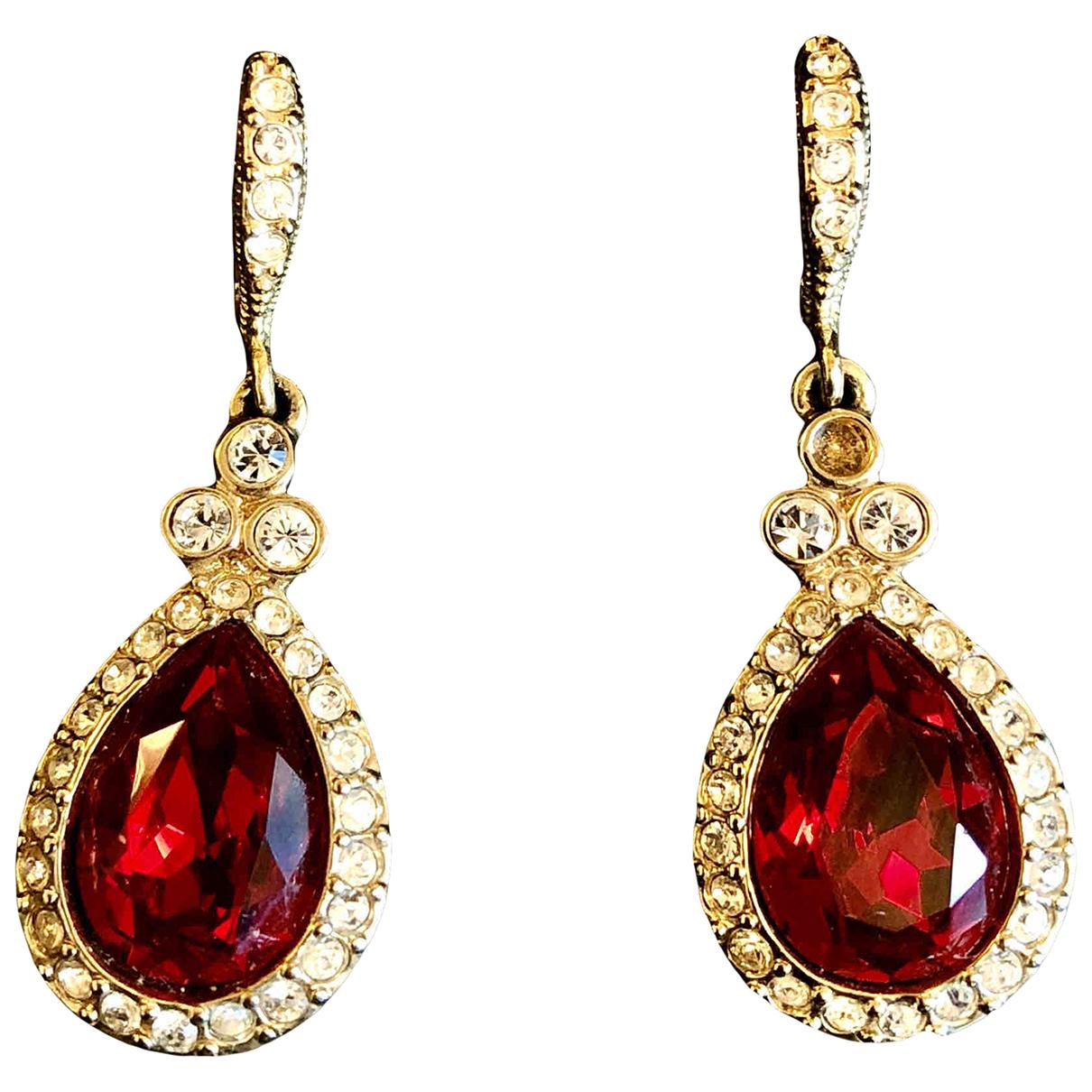 Givenchy - Boucles doreilles   pour femme en cristal - rouge