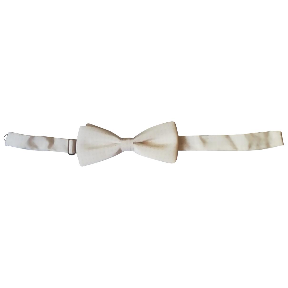 Ermenegildo Zegna N White Silk Ties for Men N