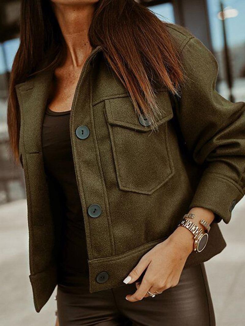 Ericdress Thin Slim Long Sleeve Regular Lapel Jacket