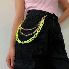 Metal & Acrylic Pant Chain