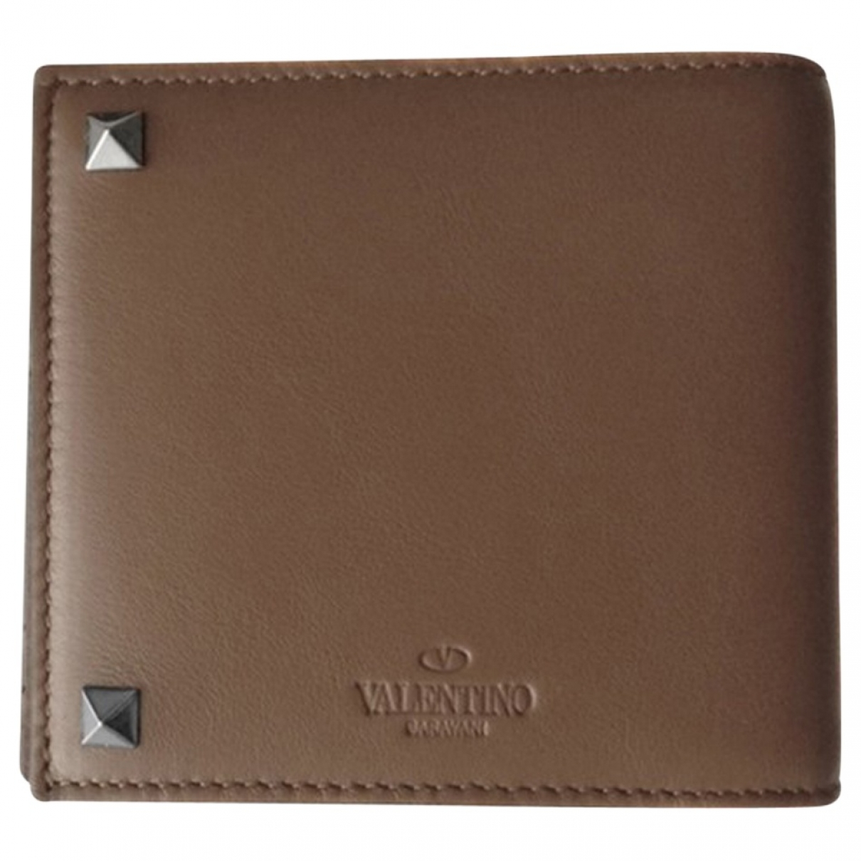 Valentino Garavani \N Brown Leather wallet for Women \N
