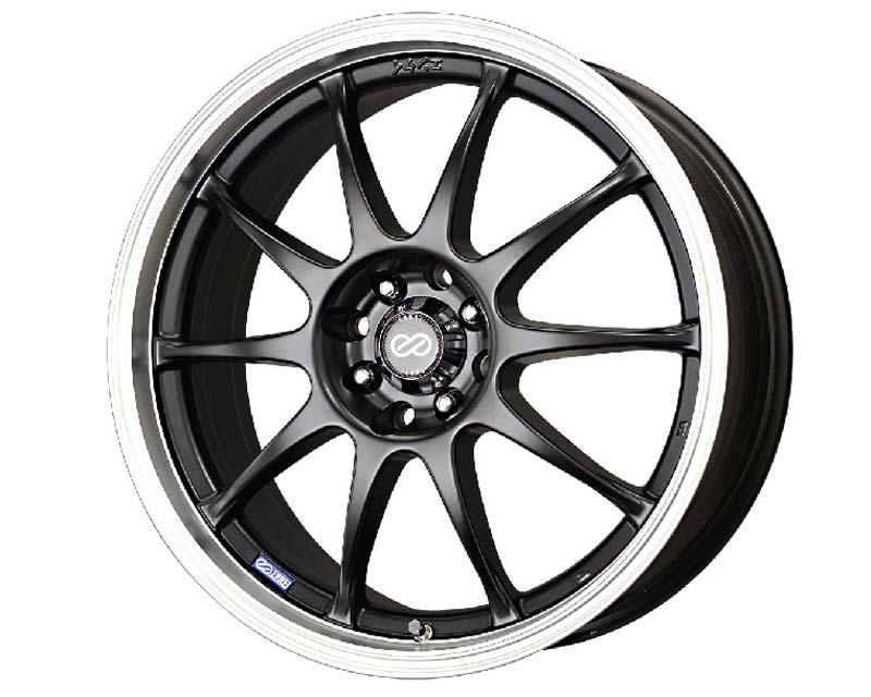 Enkei J10 Wheel Performance Series Black 17x7 4x100/114.3 42mm