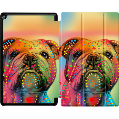 Amazon Fire HD 10 (2017) Tablet Smart Case - Bulldog von Mark Ashkenazi