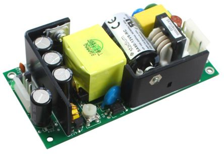 RS PRO , 60W Embedded Switch Mode Power Supply (SMPS), 27.6V dc, Open Frame