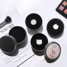 1pc Random Makeup Brush Cleaning Box