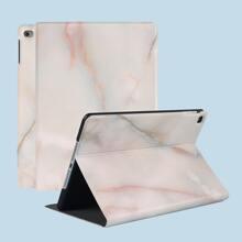 1pc Marble Print iPad Case