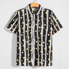 Guys Allover Print Shirt