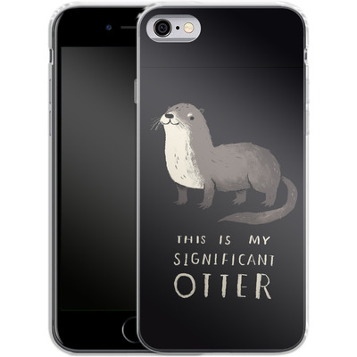 Apple iPhone 6 Silikon Handyhuelle - This Is My Significant Otter von Louis Ros
