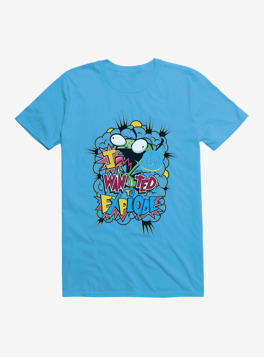 Invader Zim I Want To Explode T-Shirt