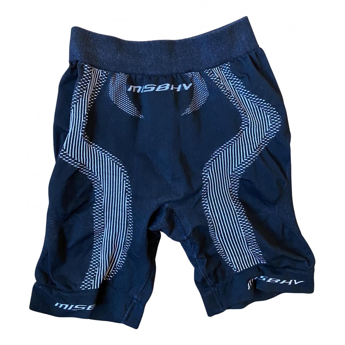 Misbhv \N Shorts in  Schwarz Polyester