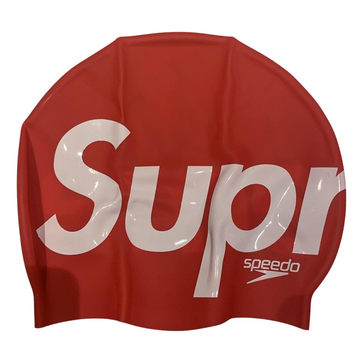 Supreme - Natation   pour lifestyle en suede - rouge