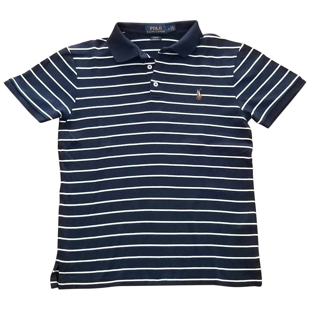 Polo Ralph Lauren - Polos Polo cintre manches courtes pour homme en coton - bleu