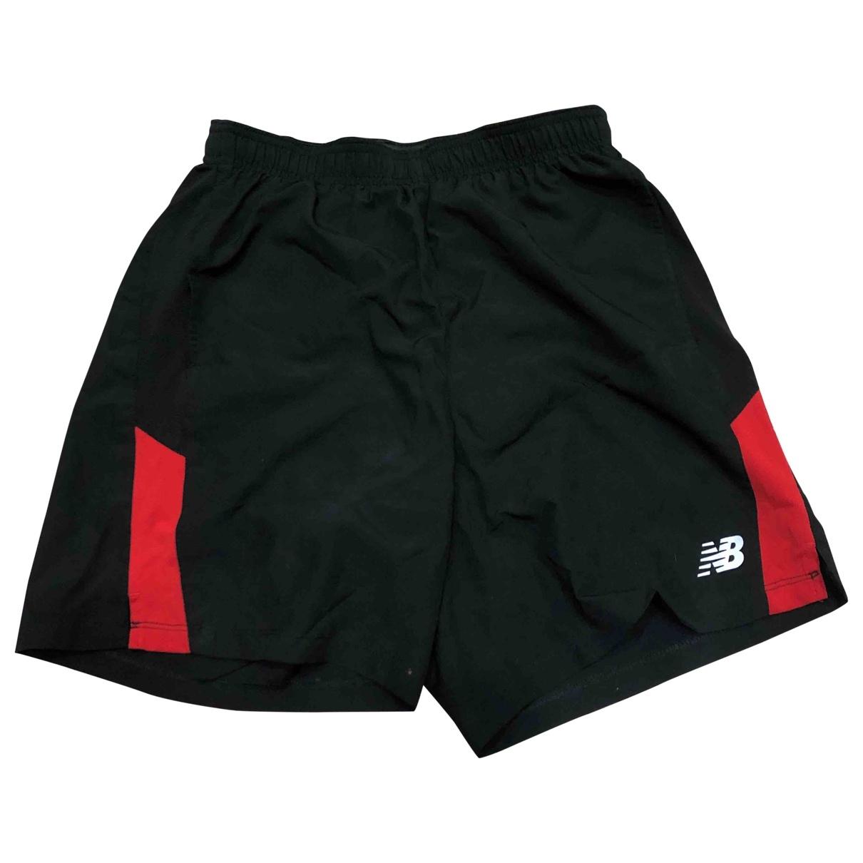 New Balance \N Shorts in  Schwarz Baumwolle