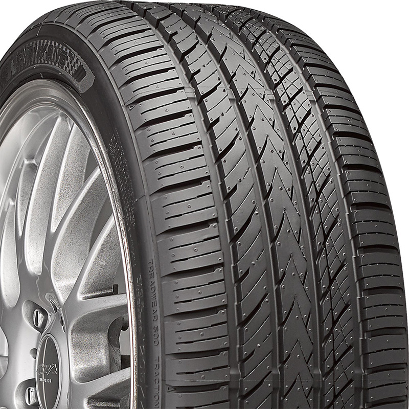 Nankang 24470113 Tire NS-25 A/S UHP Tire 215 /55 R17 94V SL BSW