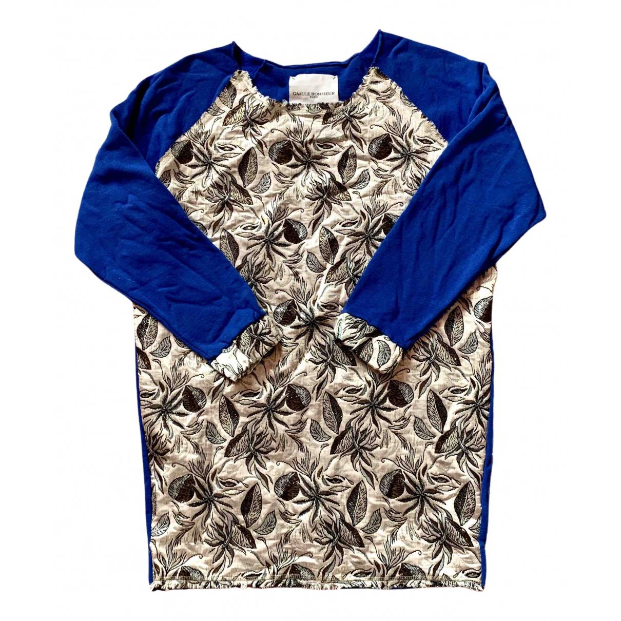 Gaelle Bonheur - Pull   pour femme en coton - bleu