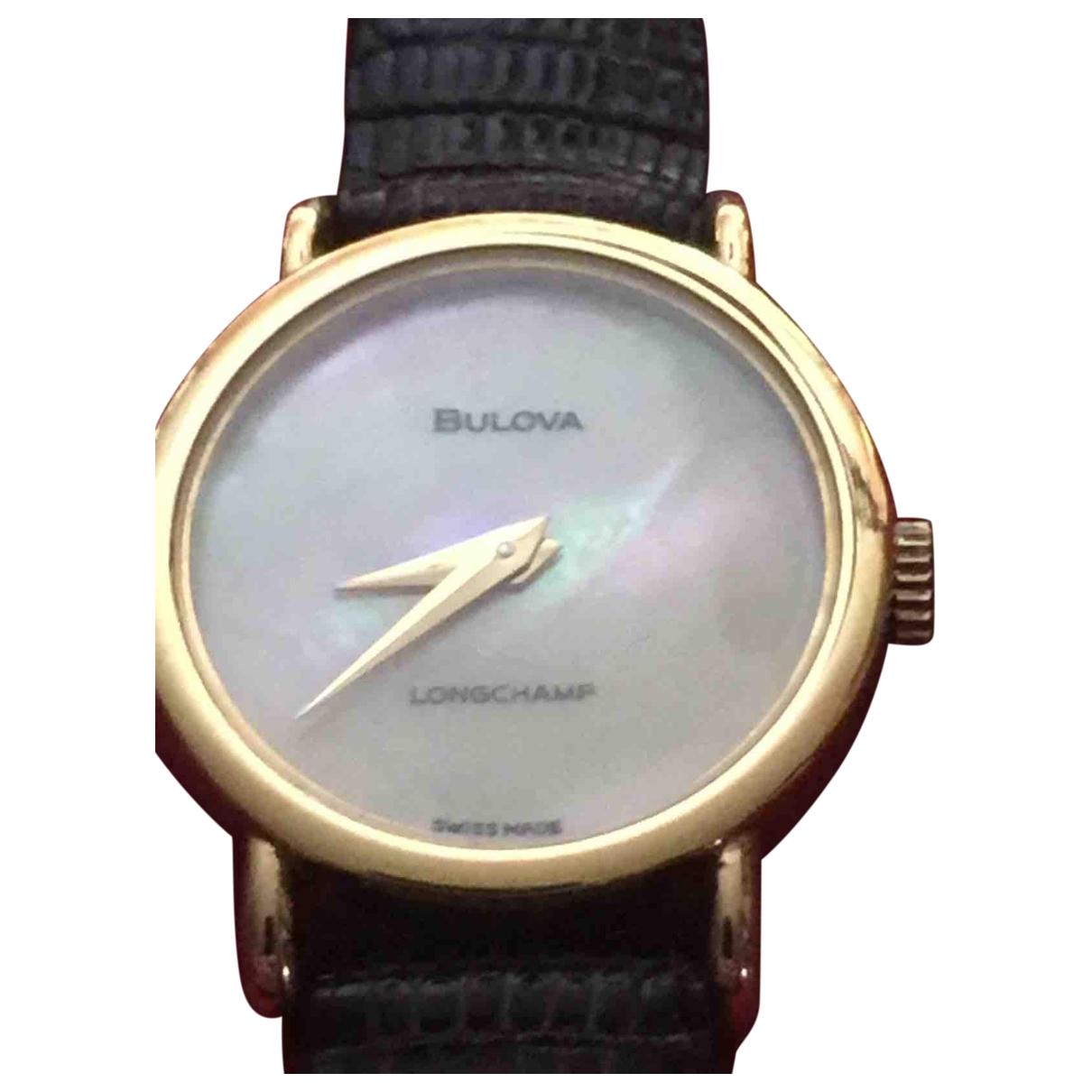 Bulova - Montre   pour femme en acier