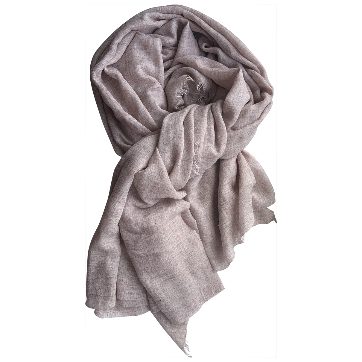 All Saints \N Pink Cashmere scarf for Women \N