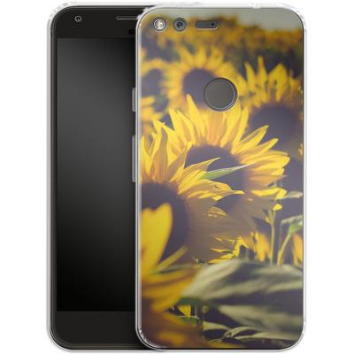 Google Pixel Silikon Handyhuelle - Sunflower 2 von Joy StClaire