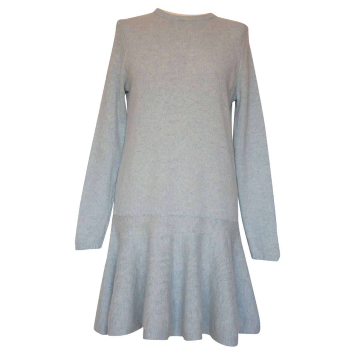 Ganni \N Kleid in  Blau Wolle
