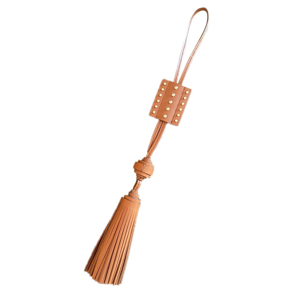 Tod's - Petite maroquinerie   pour femme en cuir - camel