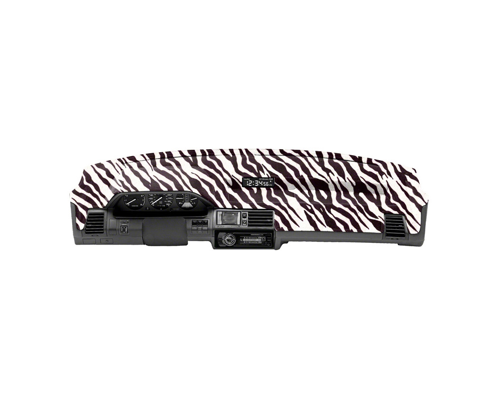 Cover King Custom Tailored Velour Dashboard Cover Zebra Kia Soul 2010-2013