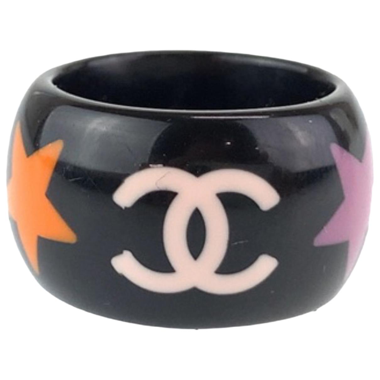 Chanel - Bague   pour femme - noir