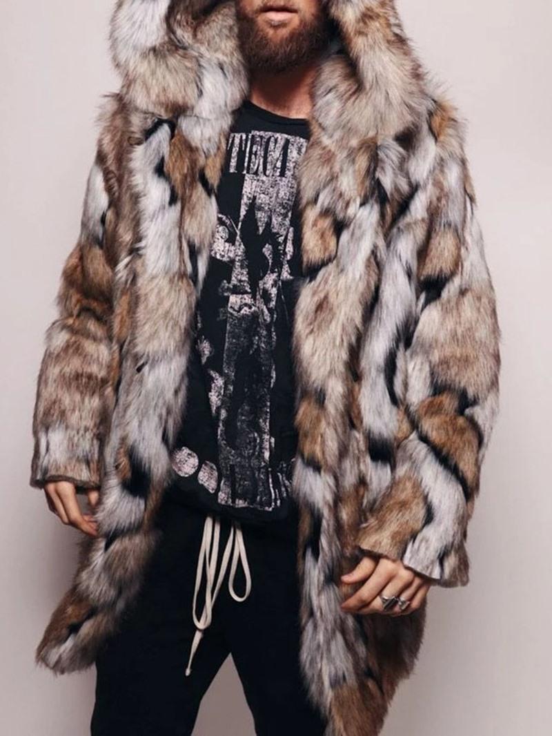 Ericdress Hooded Mid-Length European Winter Coat